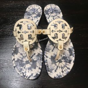 Tory Burch Shoes - {Tory Burch} Tie-Dye Miller Sandals